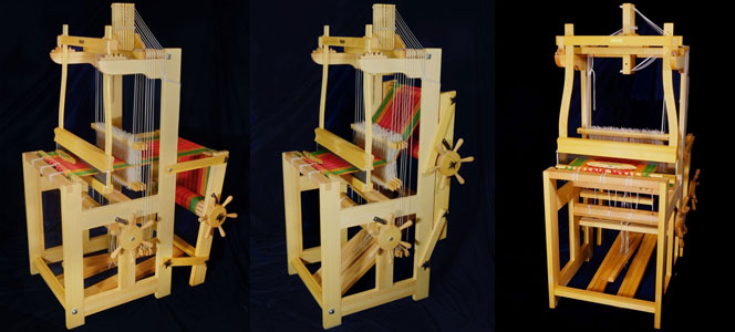 The Öxabäck Lilla loom: beautiful, sturdy, compact, and affordable